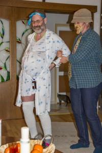 Kismama szülés előtt