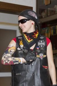 Egy Harley-Devidson álfan